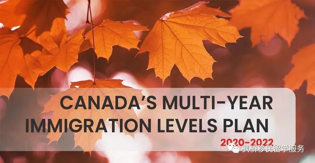 【移民】加拿大官网公布2020-2022移民水平计划,省提名配额持续增加