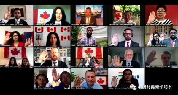 【移民】加拿大移民部长再次重申:移民将催生加拿大经济复苏;加拿大云入籍仪式引人注目